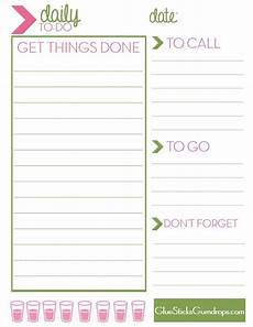 Printable Daily To Do List Template Free Printable Daily To Do List With Images To Do