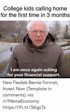 new flexible bernie format invest now template in comments