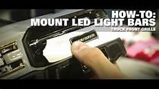 Pro Line Led Light Bar Pro Line How To Grille Mount A 2 Quot Led Light Bar Youtube