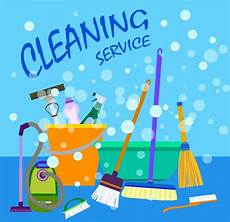 Cleaning Services Advertising Cleaning Service Advertisement Various Colored Tools