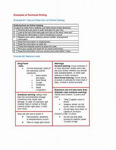 Technical Writing Example Examples Of Technical Writing Example 1 Manualzz