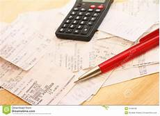 Calculating Expenses Calculating Expenses Stock Image Image Of Pile Commerce