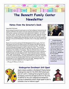 Newsletter Examples For Schools 10 Basic Newsletter Templates Free Word Pdf Format