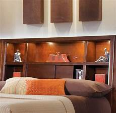 Queen Bookcase Headboard With Lights Tribecca Full Queen Bookcase Headboard By American Drew