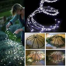 Solar Waterfall Lights Outdoor Led Solar Lights String Waterfall Fairy Icicle