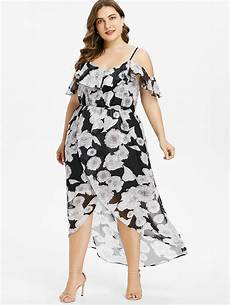 aliexpress buy gamiss plus size floral ruffle cold