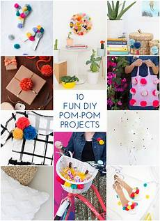 10 pom pom diys the crafted