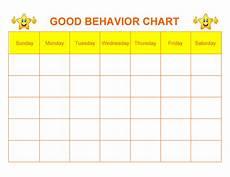 Behavior Clip Chart Template 42 Printable Behavior Chart Templates For Kids ᐅ Templatelab