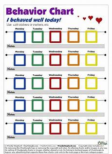 Behavior Charts For Elementary Students Parentingtips For A Successful School Year Behavior