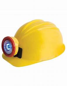 Miners Hat With Light Miner Helmet Yellow With Bright Led Light