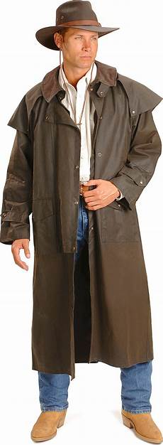 cowboy slicker coats oilskin duster by outback trading co jacksons