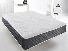 cool blue gel memory foam sprung mattress 3ft 4ft 4ft6
