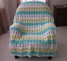 springtime lace easy crochet afghan pattern favecrafts