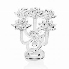 candelieri in cristallo 80961 candeliere in cristallo a 5 fiamme 36 5x36 5x37