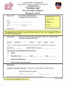 Volunteer Fire Department Incident Report Template Fire Incident Report Form Fill Online Printable