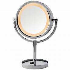 Jerdon Lighted Mirror Jerdon Hl745co 8 5 Quot Lighted Tabletop Mirror 1x 5x