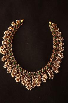 22k Gold Indian Jewellery Designs 22k Gold South Indian Designer Indian Emerald Necklace
