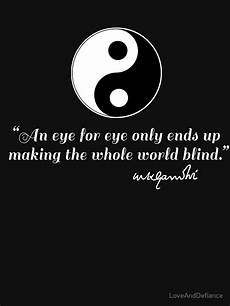 quot gandhi quote with yin yang quot tank top by loveanddefiance
