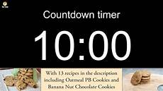 10 Mintue Timer 10 Minute Countdown Timer With Alarm Including 13 Recipes