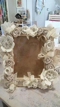 cornice di fiori cornice con fiori di feltro merceria creativa