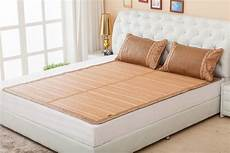 bamboo bed mattress floor mat size summer