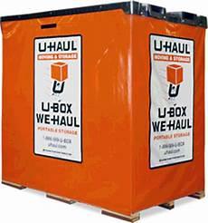 U Haul U Box U Haul U Box Moving And Storage Container 8x5x7