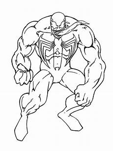 Easy Venom Coloring Pages Venom Coloring Pages And Print Venom Coloring Pages