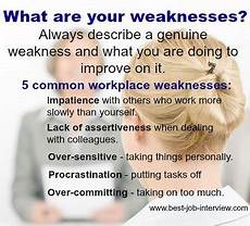 Sample Weaknesses For Interview Free Interview Answers What Are Your Strengths And