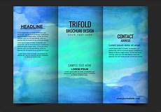 Free Printable Brochure Templates Online Vector Modern Trifold Brochure Template Download Free
