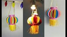 Making Diwali Lights How To Make Paper Lantern Akash Kandli Diy Diwali