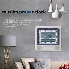 Wall Table Muslim Clock Azan Islamic by Lcd Automatic Islamic Muslim Prayer Azan Athan Alarm Wall