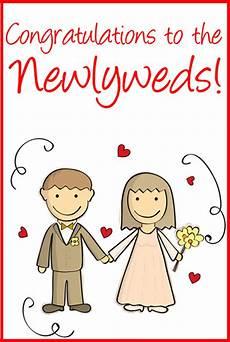 Congratulations Printable Card 10 Free Printable Wedding Cards That Say Congrats