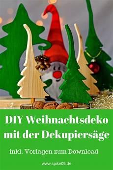 Malvorlagen Tannenbaum Selber Machen by Diy Weihnachtsdeko Mit Der Dekupiers 228 Ge Aus Restholz