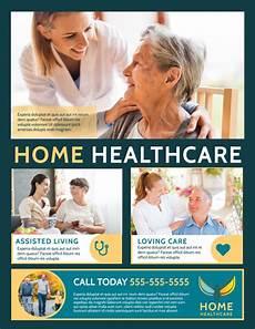 Home Care Flyer Home Healthcare Flyer Template Mycreativeshop