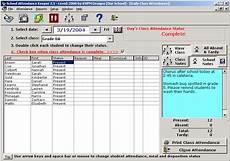 Attendance Maker Shareware School Attendance Keeper At Download Collection
