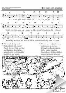 Nadines Malvorlagen Lyrics Noten Alle Meine Entchen 2 Stimmig Lullibys And Lyrics