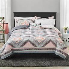 mainstays floral bed in a bag comforter bedding