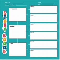 childrens story template beautiful storyboard examples for students for kids and