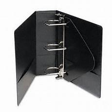 4 Inch Binder Basic Vinyl 4 Inch D Ring Black Binder