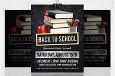 Back To School Flyer Templates Back To School Flyer Flyer Templates Creative Market