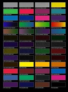 Metallic Car Paint Color Chart 12 Best Car Paint Charts Images On Pinterest Paint
