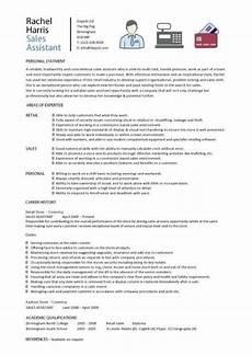 Retail Cv Sample Sales Assistant Cv Example Shop Store Resume Retail