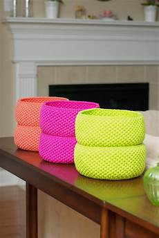 crochet basket handy crafter crochet baskets in delicious colors