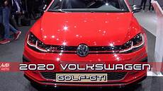volkswagen golf gtd 2020 2019 2020 volkswagen golf gti tcr 290hp exterior and