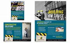 Commercial Flyers Industrial Amp Commercial Construction Flyer Amp Ad Template