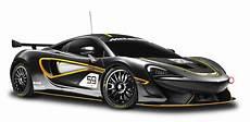 black mclaren 570s gt4 racing car png image pngpix