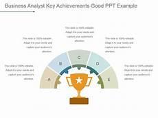Key Achievements Business Analyst Key Achievements Good Ppt Example