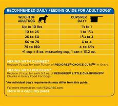 Pedigree Puppy Feeding Chart Pedigree Complete Nutrition Dry Dog Food Grilled