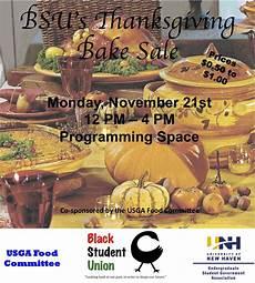 Thanksgiving Bake Sale Bsu S Thanksgiving Bake Sale