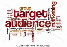 Another Word For Target Audience Stock Image Of Target Audience Word Cloud Concept With